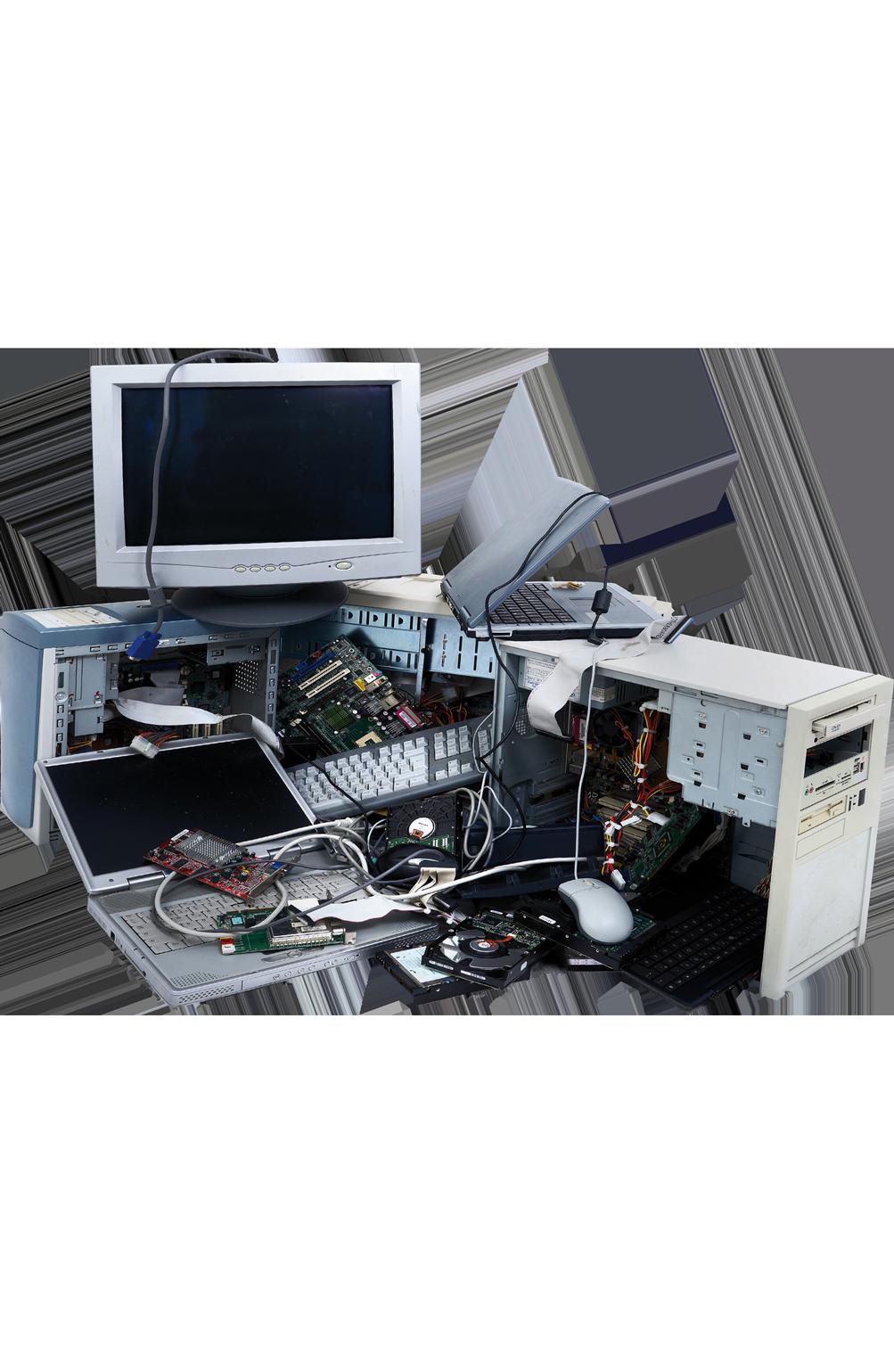 Rifiuti hi-tech e materiale elettronico