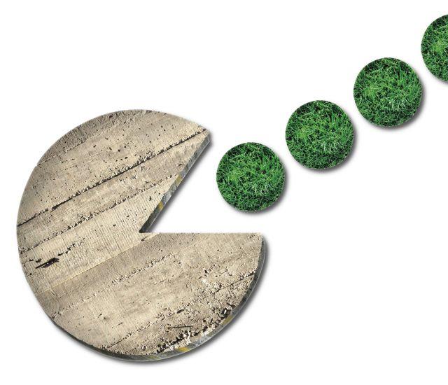 Il consumo di suolo avanza in Italia al ritmo di 2 metri quadrati al secondo, Rapporto Ispra